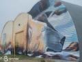 Mural on Polar Bear Holding Facility