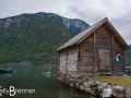 Undredal on the Aurlandsfjord