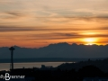 Sunset over the Space Needle and Elliott Bay