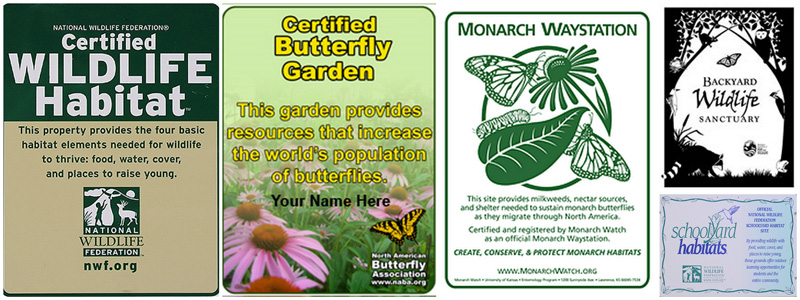 Superieur Wildlife Habitat Certification Is Offered Through Many Organizations As A  Way Of Creating, Improving And Monitoring Wildlife Habitats Both Nationally  And ...