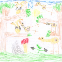 Native Plants and Wildlife Gardens Post:: Plants in Children's Art